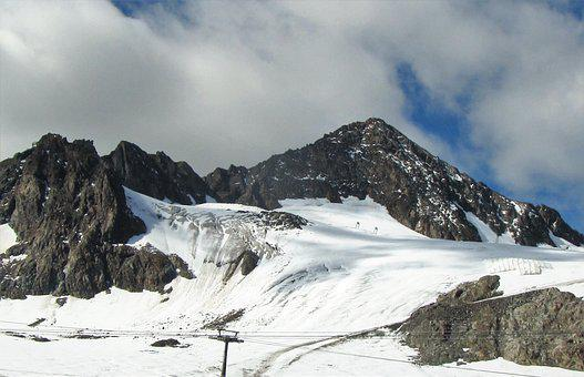 Stubai Glacier, The Stubai Valley, Austria