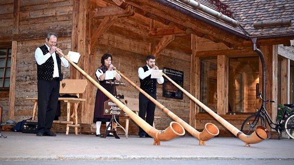 Alphorn, Wind Instrument, Musical Instrument, Music