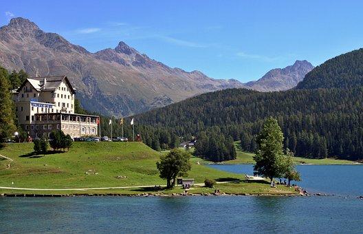 Moritz, Saint, Switzerland, Alpine, Graubünden