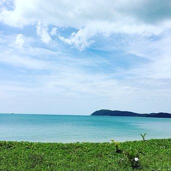 Sea, Island, Peace, Nature, Happy, Travel, Beach, Sky
