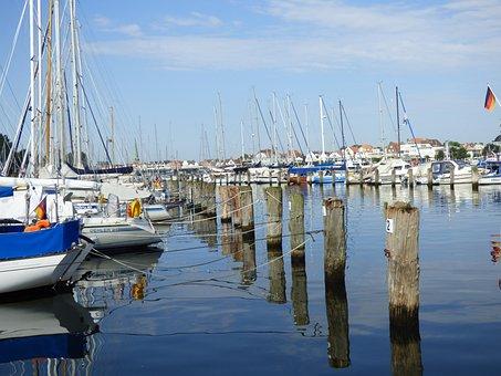 Port, Yacht, Water, Boat, Sea, Ship, Sky, Marina