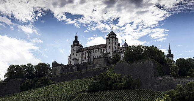 Fortress, Würzburg, Building, Bavaria, Swiss Francs