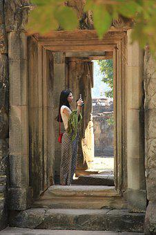 Angkor, Ruin, Cambodia, Temple, Architecture, Travel
