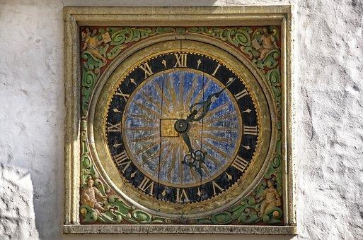 Clock, Church Clock, Church, Historically, Clock Face