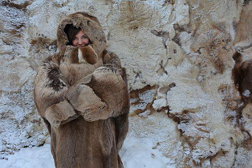 Winter, Fur Coat, Cold, Coldly, Frost, Woman, Girl, Fur