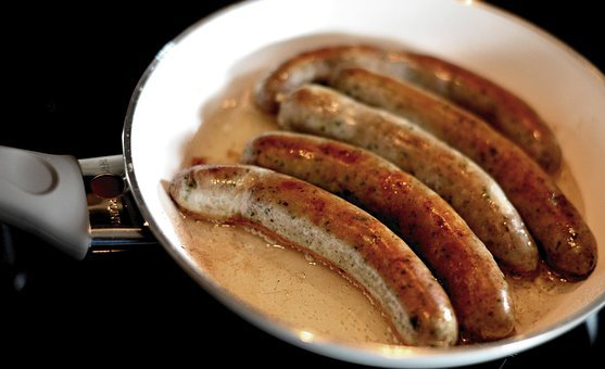 Bratwurst, Sausage, Pan, Nutrition, Fry, Fat, Cook