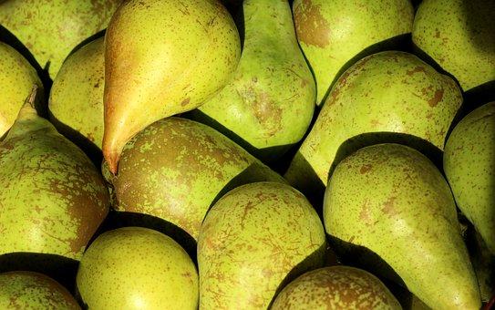 Pears, Fruit, Food, Vitamins, Healthy, Fresh, Mature