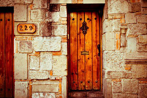 Coffee, Door, Wood, Gate, Rustic, House, Input