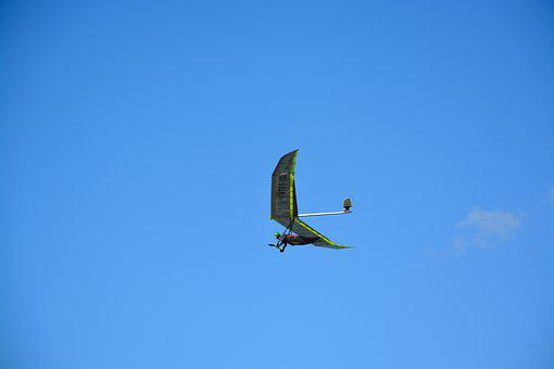 Hang Gliding, Aircraft, Fly, Fly Free, Normandy