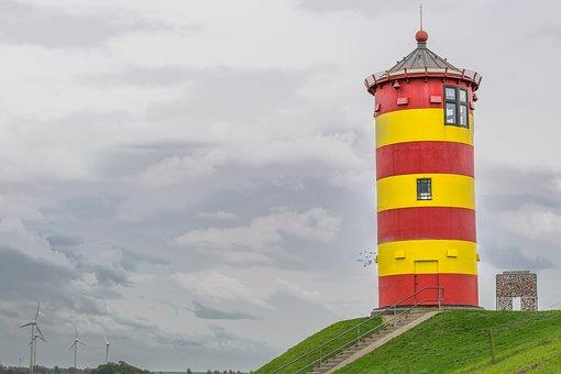 Pilsum, Leuchtturm, Krummhörn, Vacations