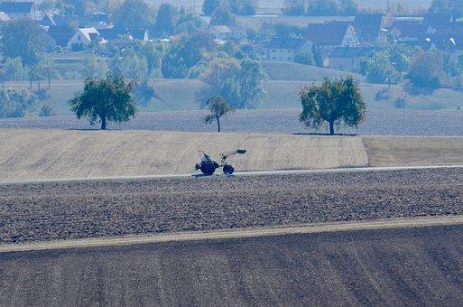 Bauer, Farmer, Tractor, Harvest, Agriculture, Landscape