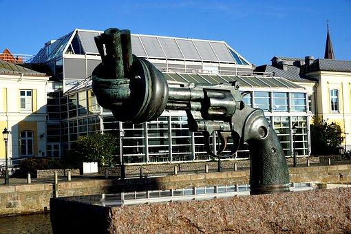 Malmö, Art, Weapons, Artwork, Sculpture