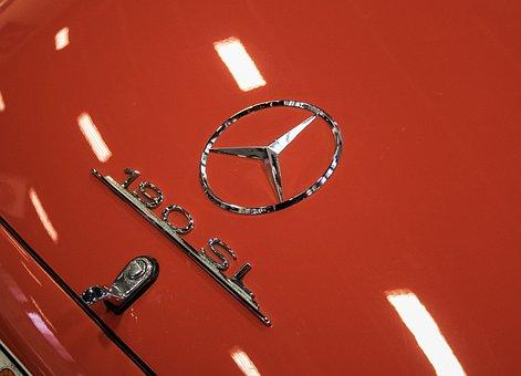 Mercedes, Oldtimer, 190sl, Automotive, Classic