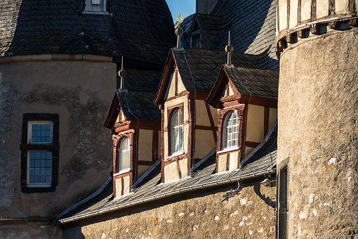Castle, Window, Roof Windows, Fortress, Middle Ages