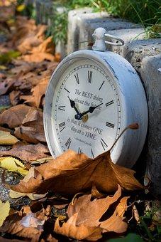Autumn, Time, Watch, Leaf, Mood