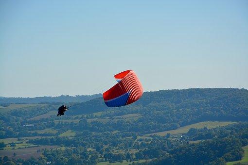 Paragliding, Paraglider, Figures Of Paragliding
