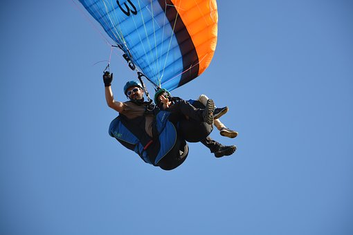 Paragliding, Paraglider, Paragliding Duo