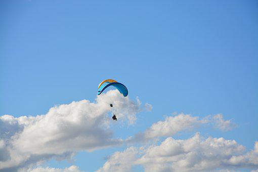 Paragliding, Paraglider, Paragliding Duo