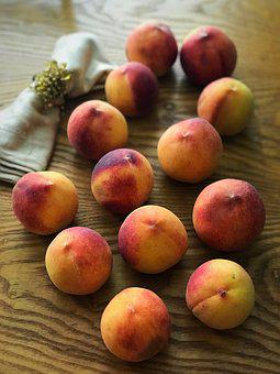 Fruit, Peaches, Food, Healthy, Ripe, Peach, Juicy
