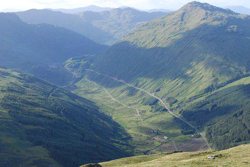 Arrochar, Scotland, The Brack, Rest Be Thankful