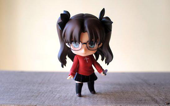 Young, Lady, Cute, Small, Rin, Japanese, Anime, Cartoon