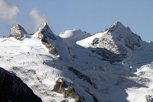 Mountains, Alpine, Landscape, Nature, Sky, Panorama