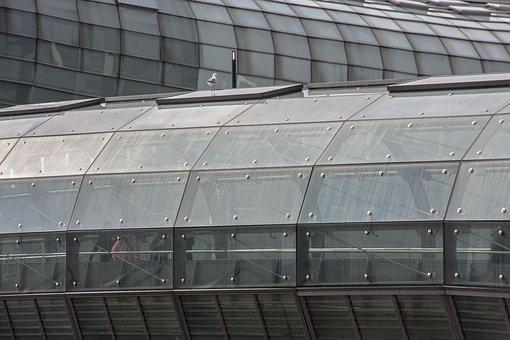 Glass, Bridge, Architecture, Modern, Structure, Urban