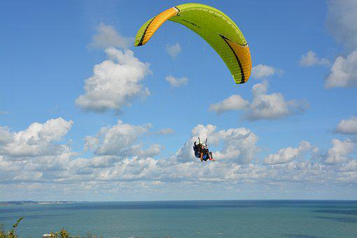 Paragliding, Wing Wing Wing Ozone Rush 5