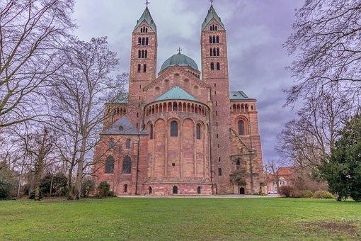 Speyer, Sachsen, Dom, Germany, Unesco, World Heritage