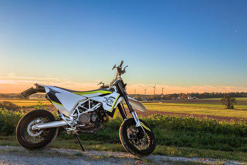 Motorcycle, 701, Hdr, Autumn