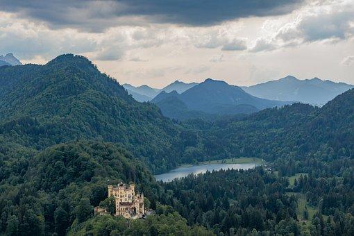 Hohenschwangau, Allgäu, Bavaria, Germany, Alpine