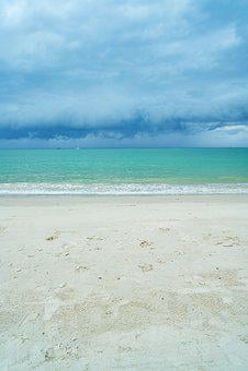 Landscape, Marine, Sky, Blue, Green, Beach, Nature