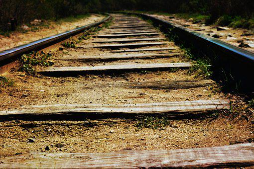 Path, Train, Railway, Transport, Beauty, People, Nature