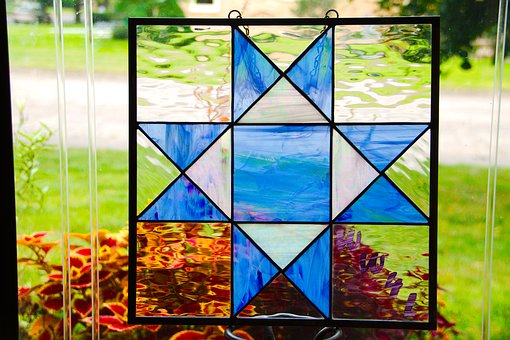 Stained Glass, Barn Quilt, Benefit