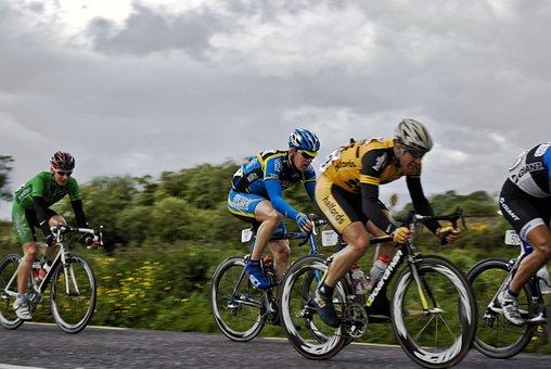 Cyclists, Race, Bike, Cycling, Cyclist, Sport, Speed