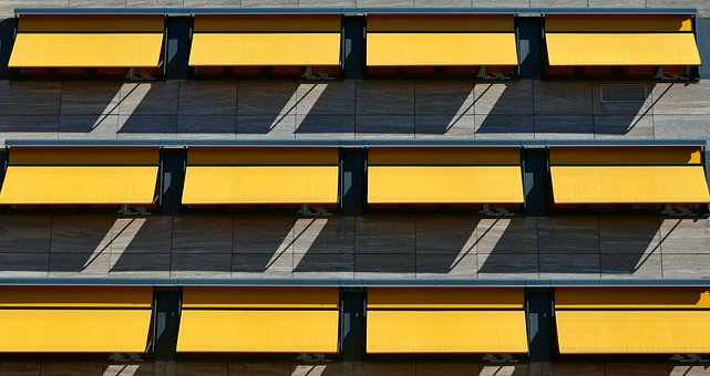 Facade, Sun Protection, Architecture, Structure