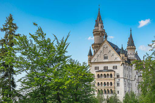 Hohenschwangau, Allgäu, Bavaria, Germany, Historically