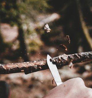 Carve, Knife, Wood, Chips, Background, Wallpaper
