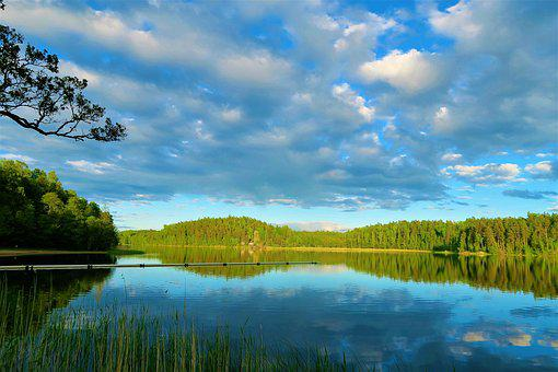 Landscape, Lake, Water, Nature, Reflection, Forest
