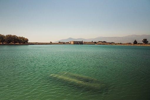 Water, Boat, Lake, Landscape, Reflection