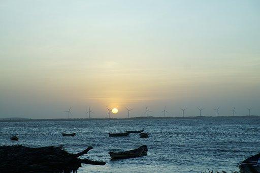 Litoral, Piauí, Pedra Do Sal, Holidays, Ocean, Mar