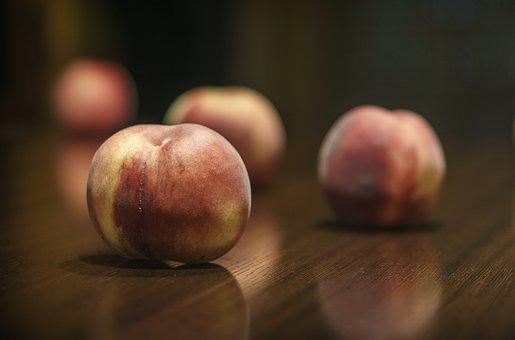 Peaches, Fruit, Delicious, Fresh, Mature, Eat, Food