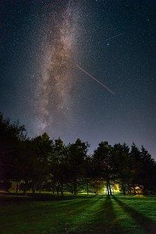 Nature, Landscape, Milky Way, Star, Starry Sky