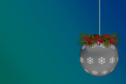 Light Bulb Christmas, Mistletoe, Christmas
