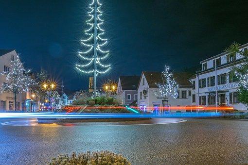 Christmas, Decoration, Mood, Long Exposure