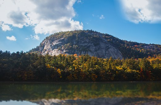 New Hampshire, Mountain, Fall, Landscape, Mountains