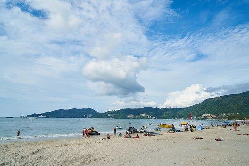 Marine, Beach, Nature, Beautiful, Landscape, Peace