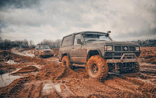 Offroad, Auto, Field, The Vehicle, Off-road Rally
