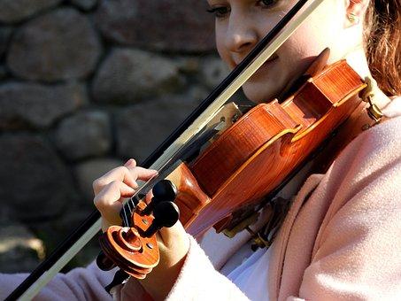 Violinist, Violin, Playing The Violin, Music, Mood