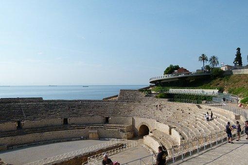 Amphitheatre, Tarragona, Rome, Roman Architecture